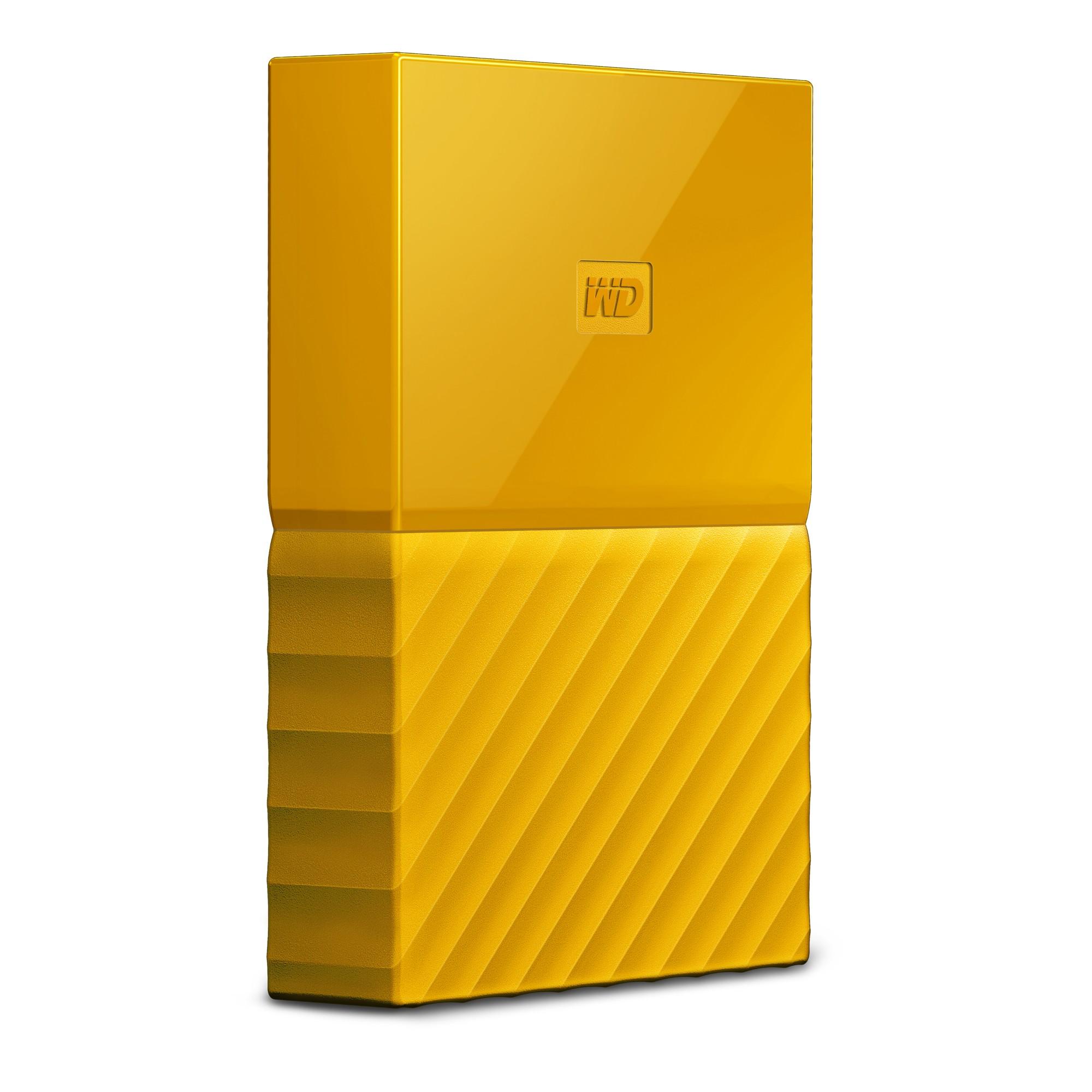 Western Digital My Passport external hard drive 4000 GB Yellow