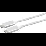 eSTUFF ES84051-1M-SILVER USB cable USB C
