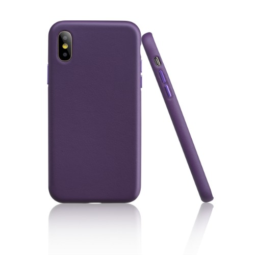 Garbot Corium Nappa Leather Case for Iphone XR Tailored Purple