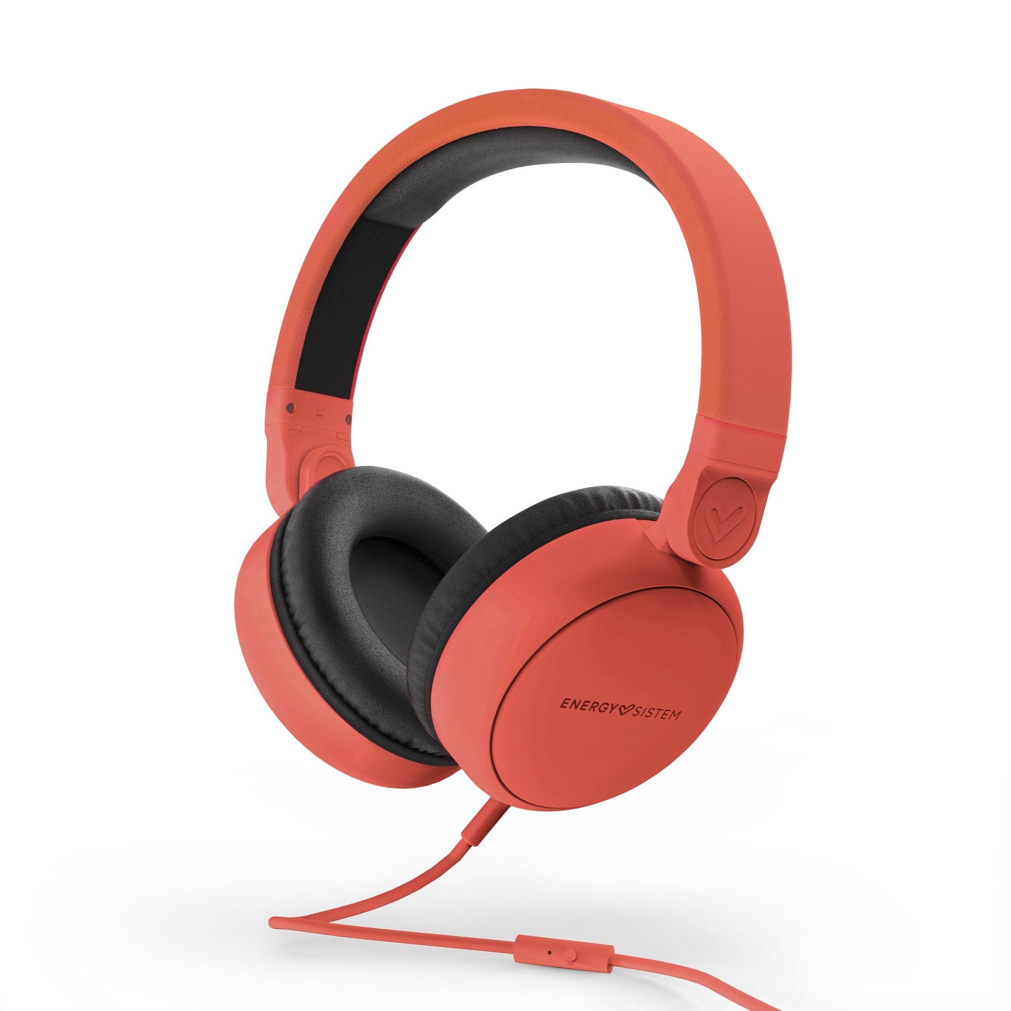 Energy Sistem Style 1 Talk Auriculares Diadema Rojo