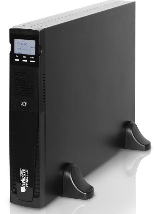 Riello Vision Dual 2200 sistema de alimentación ininterrumpida (UPS) 2200 VA 1980 W 9 salidas AC