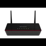 Netgear D6000 Dual-band (2.4 GHz / 5 GHz) Gigabit Ethernet Black wireless router
