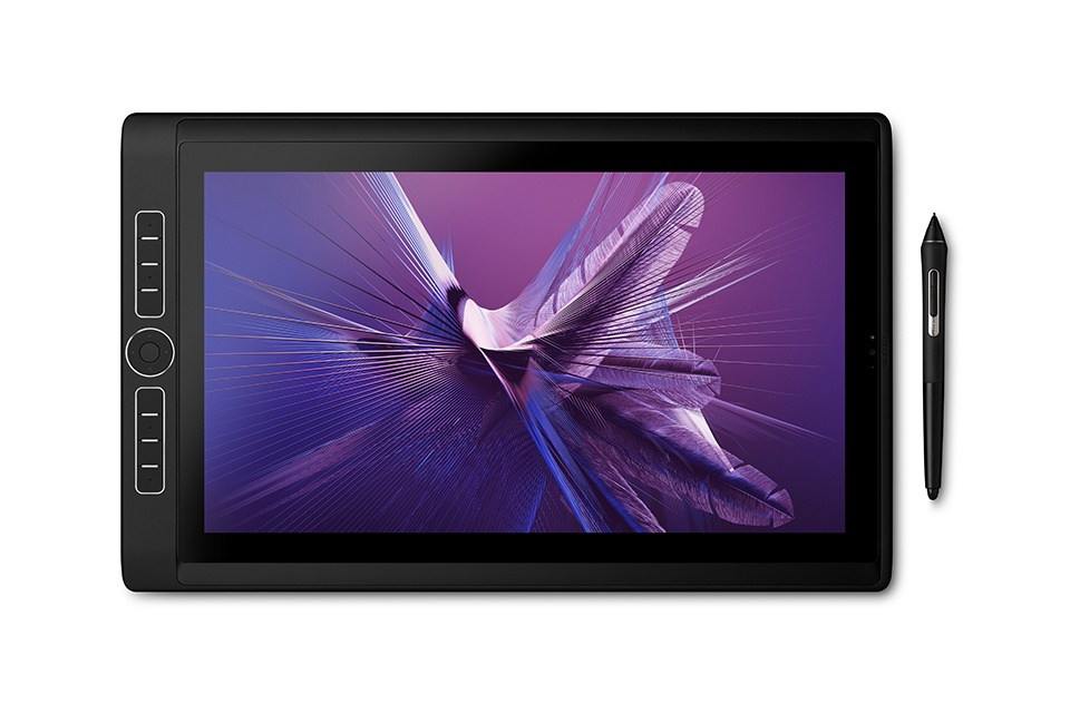 Wacom MobileStudio Pro DTHW1621HK0B tableta digitalizadora 5080 líneas por pulgada 346 x 194 mm USB/Bluetooth Negro