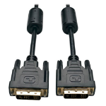 Tripp Lite P561-006 DVI Single Link Cable, Digital TMDS Monitor Cable (DVI-D M/M), 6 ft. (1.83 m)
