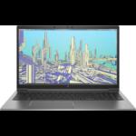 "HP ZBook Firefly 15.6 G8 Mobile workstation 39.6 cm (15.6"") Full HD 11th gen Intel® Core™ i5 8 GB DDR4-SDRAM 256 GB SSD NVIDIA Quadro T500 Wi-Fi 6 (802.11ax) Windows 10 Pro Grey"