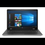 "HP 17-bs061st 2.4GHz i3-7100U 17.3"" 1600 x 900pixels Silver, Black Notebook"