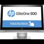 "HP EliteOne 800 G2 58.4 cm (23"") 1920 x 1080 pixels Touchscreen 6th gen Intel® Core™ i7 8 GB DDR4-SDRAM 256 GB SSD Black,Silver All-in-One PC Windows 10 Pro"