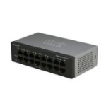 Cisco SF110-16 Unmanaged L2 Fast Ethernet (10/100) Black