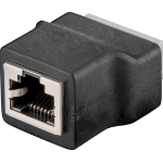 Microconnect RJ45 Female (8P8C) > 8-pin wire connector Black