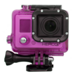 Urban Factory Waterproof Case Pink: for GoPro Hero3 and 3+ cameras