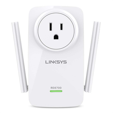 Linksys RE6700 Ethernet LAN Wi-Fi White 1pcs PowerLine network adapter