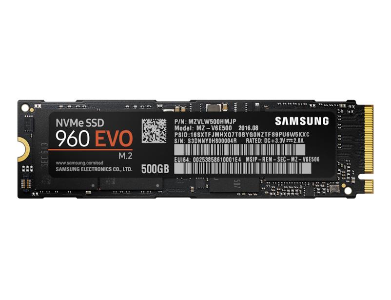 SSD - 960 Evo Series - 500GB - M.2 - Pci-e