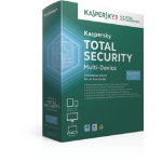 Kaspersky Lab Total Security - Multi-Device DACH Edition 5-Device 2 year Renewal License Pack 5user(s) 2year(s) Full license German