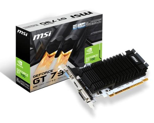 MSI N730K-2GD3H/LP graphics card NVIDIA GeForce GT 730 2 GB GDDR3