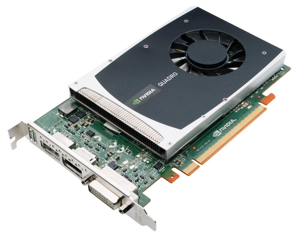 NVIDIA Quadro 2000 1GB Gddr5 128-bit 41.6 GB/s 192 Core DVI-dl + Dp +dp
