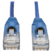 Tripp Lite RJ45-RJ45, m-m, 1.22m 1.22m Cat5e U/UTP (UTP) Blue,Transparent networking cable
