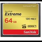 Sandisk 64GB Extreme CompactFlash 64GB CompactFlash memory card