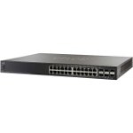 Cisco Small Business SG500X-24MPP Managed L2/L3 Gigabit Ethernet (10/100/1000) Power over Ethernet (PoE) Black