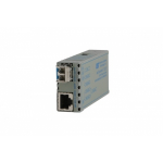 Omnitron miConverter GX/T network media converter 1000 Mbit/s 850 nm Multi-mode