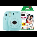 Fujifilm Instax Mini 9 Ice Blue Instant Camera inc 30 Shots