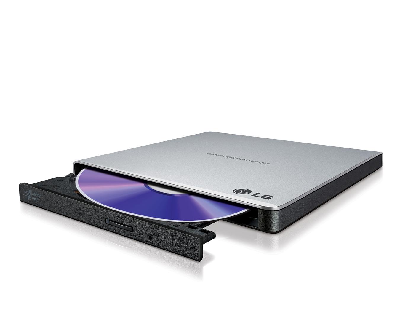 LG GP57ES40 optical disc drive Silver DVD Super Multi