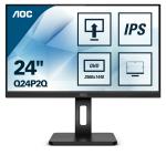 AOC Q24P2Q LED display 60,5 cm (23.8 Zoll) 2560 x 1440 Pixel Quad HD Schwarz