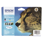 Epson C13T07154511 (T0715) Ink cartridge multi pack, 7,4ml+3x5,5ml, Pack qty 4