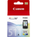 Canon CL-511 Colour Original Cian, Magenta, Amarillo 1 pieza(s)