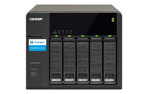 """QNAP TX-500P HDD enclosure 2.5/3.5"""" Black"""