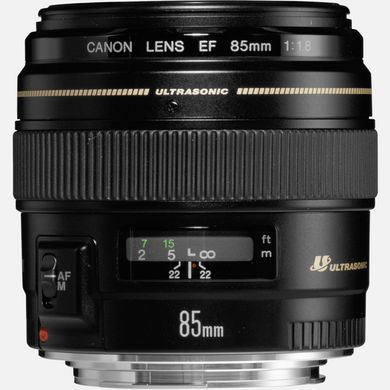 Canon EF 85mm f/1.8 USM SLR Telephoto lens Black