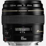 Canon EF 85mm f/1.8 USM SLR Telephoto lens Black