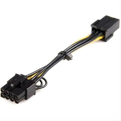 StarTech.com Cable adaptador de alimentación PCI Express de 6 pines a 8 pines