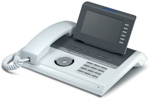 Unify OpenStage 40 IP phone Grey,White LCD