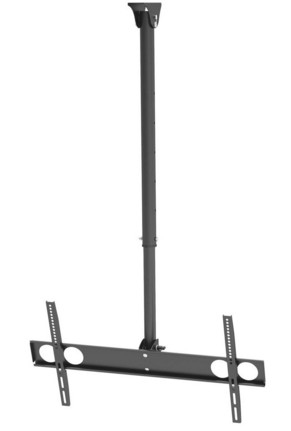 "Techlink TCM802 70"" Black flat panel ceiling mount"