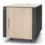 APC NetShelter CX Mini 12U Freestanding rack Gray, Oak