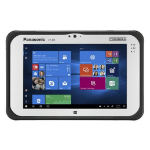 "Panasonic Toughpad FZ-M1 MK3 17.8 cm (7"") 7th gen Intel® Core™ i5 4 GB 128 GB Wi-Fi 5 (802.11ac) 4G Black,Silver Windows 10 Pro"