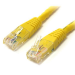 StarTech.com 7 ft Cat 6 Yellow Molded Gigabit Crossover RJ45 UTP Cat6 Patch Cable