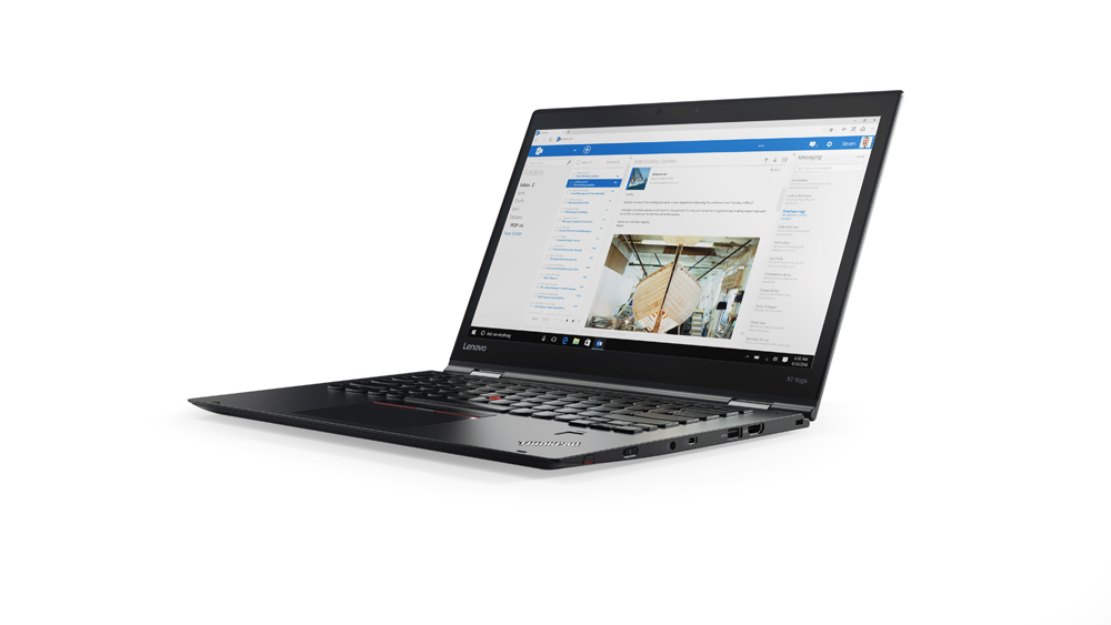 "Lenovo ThinkPad X1 Yoga (2nd Gen) 2.50GHz i5-7200U 14"" 2560 x 1440pixels Touchscreen 3G 4G Black Hybrid (2-in-1)"