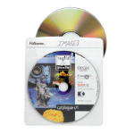 Fellowes CD/DVD Sleeves 100 discs Transparent