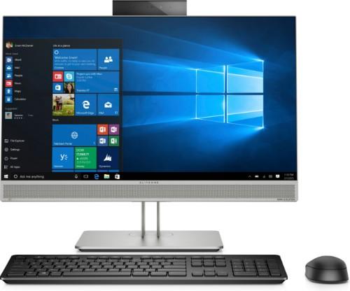 "HP EliteOne 800 G5 60.5 cm (23.8"") 1920 x 1080 pixels 9th gen Intel® Core™ i7 8 GB DDR4-SDRAM 512 GB SSD Wi-Fi 5 (802.11ac) Silver All-in-One PC Windows 10 Pro"