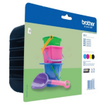 Brother LC-221VALBP Ink cartridge multi pack, 260 pages, Pack qty 4
