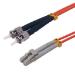 MCL FJOM2/STLC-5M cable de fibra optica OM2 LC ST Naranja