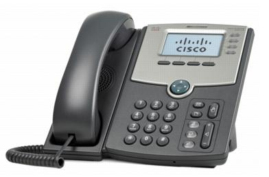 Cisco SPA514G 4lines LCD Wired handset Grey IP phone