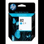 HP C4911A (82) Ink cartridge cyan, 4.3K pages, 69ml