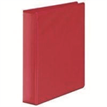 White Box WB PRES 4D RINGBINDER RED 50MM