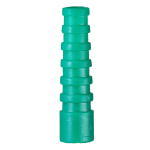 Cablenet RG59 Strain Relief Boot Green