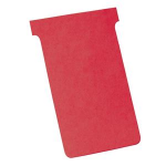 Nobo T-Cards Size 4 Red (100)