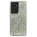 """Case-mate Twinkle mobile phone case 17.3 cm (6.8"""") Cover Silver, Transparent"""
