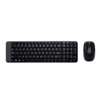 Logitech MK220 RF Wireless Black keyboard