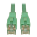 Tripp Lite Cat6a, 3ft 0.91m Cat6a U/UTP (UTP) Turquoise networking cable